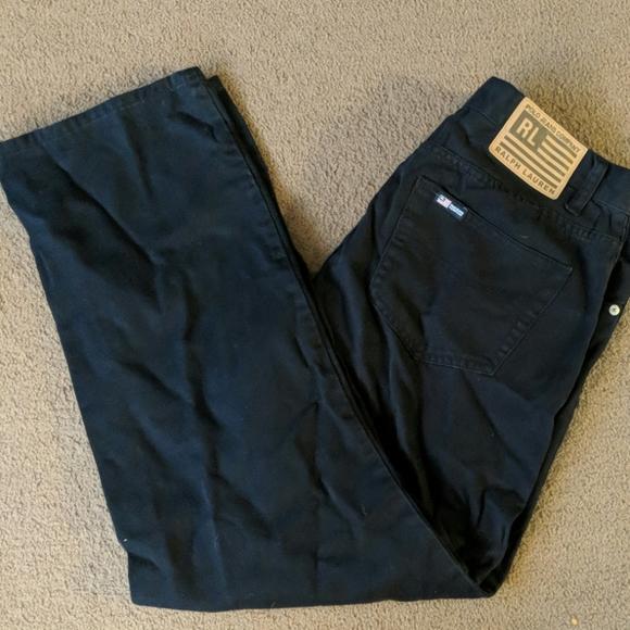 Polo Jeans Co. Ralph Lauren size 10 black jeans